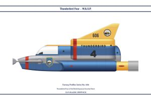 Fantasy 606 Thunderbird Four WASP by WS-Clave