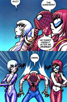 spiderman meets mandarin by flashtheshapeshafter
