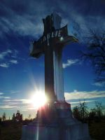 Cemetery Cross by Asphyxia777