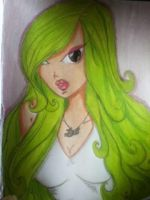 Green girl by Gris-chan