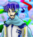 Vocaloid Kaito Redone by OneLoveDrew