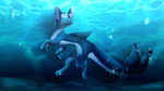 On the Seabed [ArtTrade] by KittyWinder74