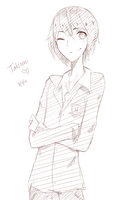 Sketch Request 1 - Takumi by kateheichou
