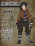 Character Design Project - Shana by BethanyAngelstar