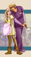 Wes and Kes XXI by Dedasaur