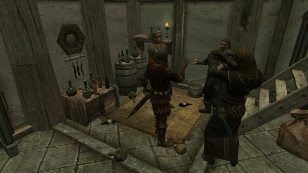 Party at the Dovahkiin. Part3 Diplomatic Alcoholic by totalfreak2002