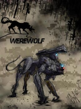Werewolf PMC Tactical Security Solutions by MaxRomanchak