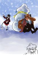 CD: SS Snowfight by A-Lasting-Dream