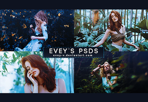 PSD #249 - Angels At Your Door by Evey-V