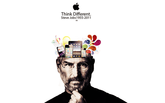 Think Different-Steve Jobs RIP by DanieLSsTyLe