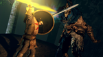 The Sunlight Warrior vs The Abyss Walker by guywiththesuitcase