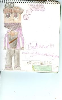 Old Gei Garlian drawing that sucks by xXEmeraldGalXx