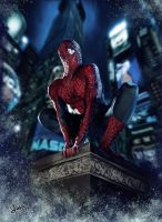 Spidey Speed Painting by FrankCP