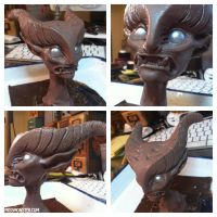 Harpy doll sculpt by missmonster