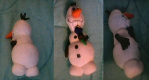 Mini Olaf sculpture by ArtisticJiggy64