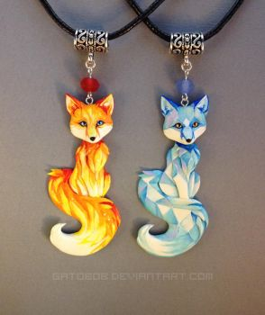 Fire and Ice by Gatobob