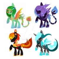 Ponies batch 7 by Vania-k