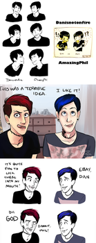 Dan And Phil Compilation by incaseyouart