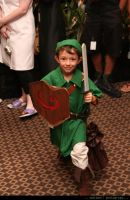 Littlest Cosplayer by techfire6