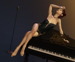 Piano pose 4 by ziege58