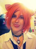 Happy Caturday! Fem! Neko Kaoru (WIP) by PrincessHex