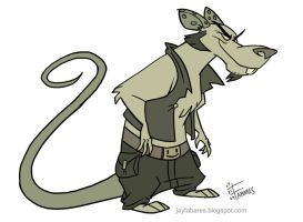 Holister the Rat by FutureDwight