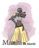Pokemon: Manhi the Mawile by Filecreation