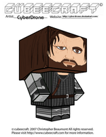 Cubeecraft - Sandor 'The Hound' Clegane by CyberDrone