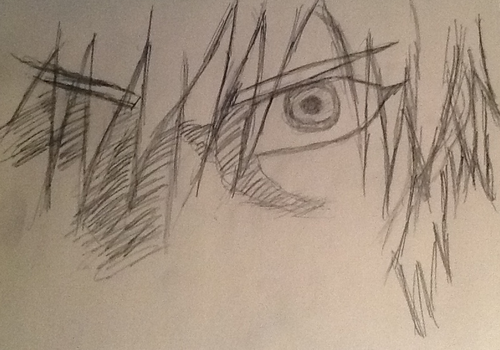 Kise Ryouta eye by FullMetalDemonHunter
