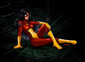 Spiderwoman By Monoguru by monoguru