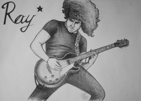 Silent Genius - Ray Toro by xFwankiex