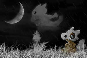 Cubone's Mother by AddSomePurple