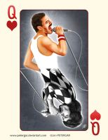 FREDDIE MERCURY by petergar