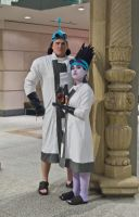 Kronk and Yzma Cosplay by E-The-Zombie