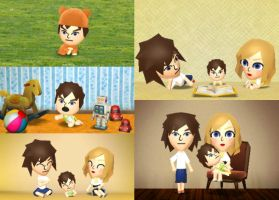 Tomodachi Life - Baby Benjamin #4 by Megalomaniacaly