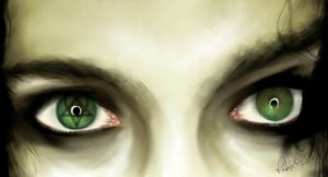 Ville Valo Eyes by gerky-art