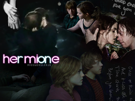 Hermione and Ron Love by MissWeasleyJB