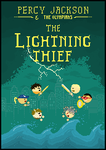 The Lightning Thief Book Cover by ViciousCherry