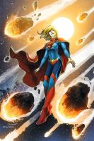 Supergirl - DC New 52 Revised Costume Design by fanboiii