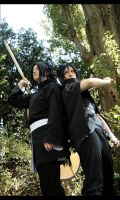 Naruto: Madara and Izuna by Fay-lin