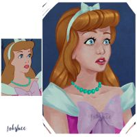Screencap Repaint - Cinderella by Fokshee