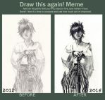 Before and After Meme by ILOVEJIMHAWKINS