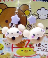 sweet kawaii earrings by AlchemianShop