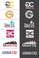 global city logo by KASOO
