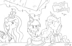Its Somepony's Birthday!~ by FritzyBeat