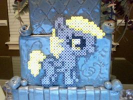 Silly Filly Chibi Perler Ponies: Derpy Hooves by Perler-Pony