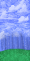 Free to Use Raining Gems Background by SainteCiel