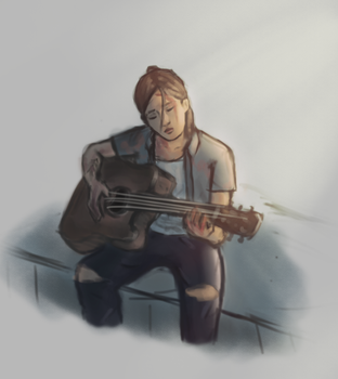 The Last Of Us Part 2 - Ellie by deppy-p