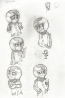Turbo sketches by BuzzingB
