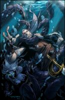 Neverland: Issue 5 Cover by E-Mann